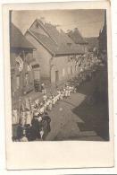 ***68  ***  Photo Carte Annoté Au Dos -  Massevaux La Fête De Dieu 1906 - TTB - Masevaux
