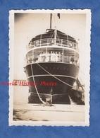 Photo Ancienne - LIVOURNE / LIVORNO - Le Bateau GARIBALDI Au Port - Toscana Italia - Boat Paquebot Snapshot - Boats