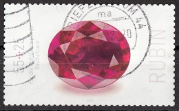 Germania 2012 Sc. B1061 Pietre Prezioze :  Rubino Germany  Deutschland - Minerali