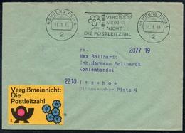 3509 - Beleg - Hamburg Nach Itzehoe 1964 Freistempel Freistempler - BRD