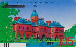 Télécarte Ancienne Japon / NTT 430-005 - 105 U - Japan Front Bar Phonecard - Balken Telefonkarte - Japan
