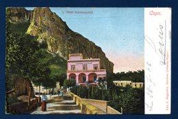 Italie. Capri. L' Hôtel Schweizerhof. 1906 - Napoli (Naples)