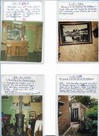 ADINKERKE   4 FOTOS 1984/93  9/9 CM - Lieux