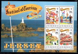 JERSEY 1990 FOGLIETTO TURISMO - Jersey