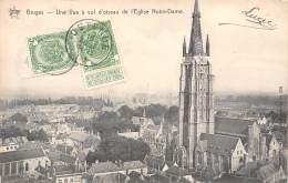 BRUGES - Une Vue à Vol D'oiseau De L'Eglise Notre-Dame - Brugge