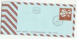 1974 Qiryat Motzkin   ISRAEL 0.80 AEROGRAMME First Day Postal Stationery Cover Stamps - Israel