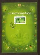 "ESLOVAQUIA/ SLOVAKIA/ SLOWAKEI -EUROPA  2007-""EXPLORADORES - A CENTENARY SCOUT -EUROPA-CEPT""- ETB De La SERIE 1 V. - Europa-CEPT"