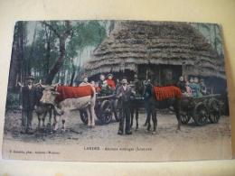 L4 1243 CPA 1909. 40 LANDES. ANCIENS ATTELAGES (LOUS CAS). EDIT. BERNEDE  (+ DE 20000 CARTES A MOINS 1 EURO) - France