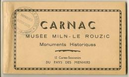 CP- 12 -Souvenir Du Pays Des Menhirs - CARNAC - Carnac