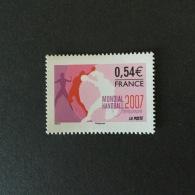 FRANCE 2007  Championnat Du Monde Handball Superbe-MUH Yv4118 - Frankreich