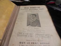 ANCIEN DICTIONNAIRE ENCYCLOPEDIQUE COMPLET DE RENE NORMAND - Dictionaries
