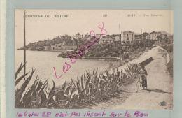CP  83  Corniche De L'Esterel    AGAY  Vue Générale  Personne Femme Avec Son Velo     M 2018 837 - France