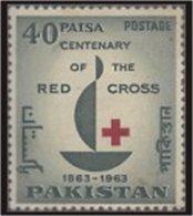 PAKISTAN SG 0187 RED CROSS CENTENARY - Pakistan