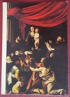 CARAVAGGIO - Die Rosenkranzmadonna - Madonna Del Rosario . Madone Du Rosaire - Kunsthistorisches Museum Wien NV - Pittura & Quadri