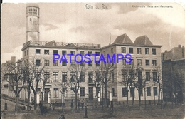 91357 GERMANY KÖLN RICHMODIS HOUSE AT NEUMARKT POSTAL POSTCARD - Allemagne