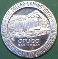 $1 Casino Token. Aruba Hotel, Aruba. 1966 NEW. D09. - Casino