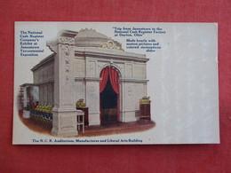 National Cash Register Company Exhibit At Jamestown Exposition  Ref 2897 - Tentoonstellingen