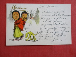 Ka-noo-no  Signed Artist    .ref 2898 - Native Americans