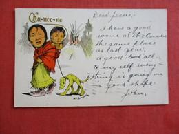 Ka-noo-no  Signed Artist    .ref 2898 - Indiani Dell'America Del Nord