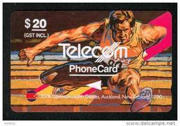 New Zealand - 1990 Commonwealth Games $20 Hurdling - NZ-G-18 - Very Fine Used - Nueva Zelanda