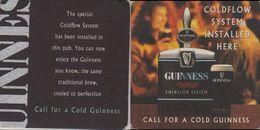 Bierdeckel Quadratisch - Guinness - Beer Mats