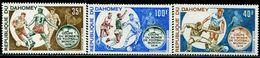 AT3690 Dahomey 1972 World Cup 3V MNH - Coupe Du Monde