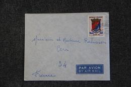 Timbre Sur Lettre De MADAGASCAR ( TANANARIVE) Vers FRANCE ( CERS ) - Madagascar (1960-...)