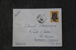 Timbre Sur Lettre De MADAGASCAR ( TANANARIVE) Vers FRANCE ( CLERMONT FERRAND) - Madagascar (1960-...)
