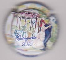 Capsule Champagne CUMIERES ( 9h ; Guinguette 2015 , SANCHEZ-LE-GUEDARD ) {S12-18} - Champagne