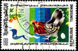 Tunisie (Rep) Poste Obl Yv: 981 Mi 1044 Yv:0,3 Euro Contes Légendes Contines (TB Cachet Rond) - Tunisia