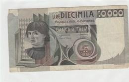 BILLET DE BANQUE...ITALIE    10000  LIRE - Italy