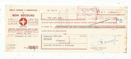 LETTRE DE CHANGE , 1951 , Produits Hygiéniques & Pharmaceutiques Du BON SECOURS , Asniéres - Bills Of Exchange