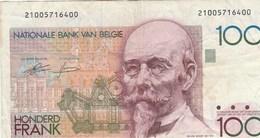 BILLET DE BANQUE...ROYAUME DE BELGIQUE   100 FRANCS - Belgium