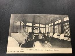 1938 - CHALLES LES EAUX Gargarismes (Dames) - Francia
