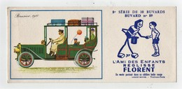Buvard Réglisse Florent Sirven Jep Voiture Automobile Brasier 1910 N°89 - Cake & Candy