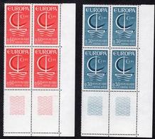 N° 1490/1491 Neuf ** Gomme D'Origine, Bloc De 4  TB - Unused Stamps