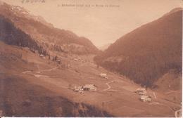 CPA - 7. ARECHES (Savoie) - Route Du  Cornet - France
