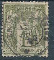 N°72 CACHET OCTOGONALE - 1876-1878 Sage (Type I)