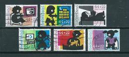2007 Netherlands Complete Set Child Welfare Used/gebruikt/oblitere - Periode 1980-... (Beatrix)