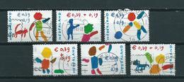 2002 Netherlands Complete Set Child Welfare Used/gebruikt/oblitere - Periode 1980-... (Beatrix)