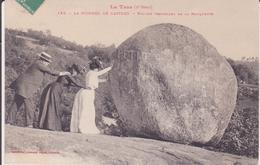 CPA - 155. LE SIDOBRE DE CASTRES - Rocher Tremblant De La Rouquette - Castres