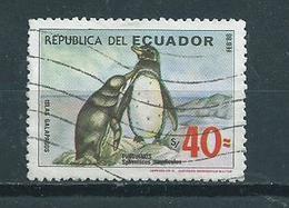 1986 Ecuador Pinquin,birds,oiseaux Used/gebruikt/oblitere - Ecuador