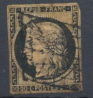 N°3 NUANCE SUPERBE GRILLE 1849 - 1849-1850 Ceres