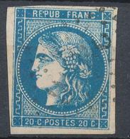 N°45 VARIETE FLEURON ET FILET - 1870 Bordeaux Printing