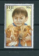 Fiji Dogs,honden,animals,dieren,chiens Used/gebruikt/oblitere - Fiji (1970-...)