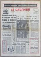 Journal Dauphiné Libéré Samedi 10 Février X° Jeux Olympiques D'hiver De Grenoble 1968 Killy Périllat - Other