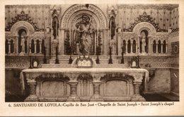 SANTUARIO DE LOYOLA  CAPILLA DE SAN JOSE CHAPELLE - Espagne
