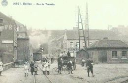 REPRODUCTION SEILLES ANDENNE GARE TRAM  TRAM  NAMUR - Andenne