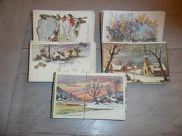 Grand Lot De 250 Cartes Postales Anciennes De Fantaisie Paysages Paysage      Lot 250 Postkaarten Van Fantasie Landschap - Cartes Postales