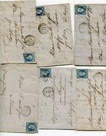 MARNE De VITRY LE FRANCOIS 12 LAC Avec N°14 Oblitéré PC 3661 ( 3 Scans) - 1849-1876: Période Classique